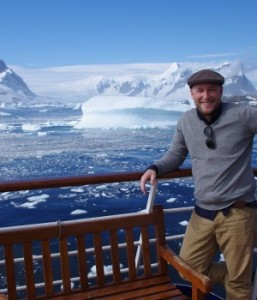 James Tuckerman in Antarctica