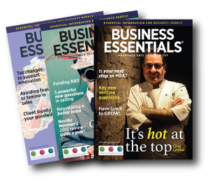 Business Essentials audio magazine